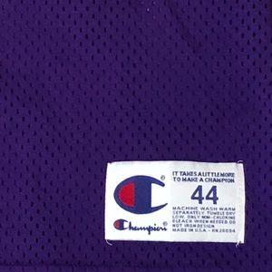 9b1dda311 Champion Shirts - Champion Authentic LA Lakers Nick Van Exel Jersey